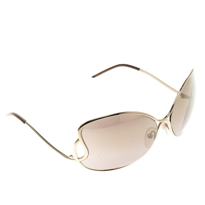 Fendi Brown FS 5178 Metal Frame Sunglasses - Buy & Sell - LC