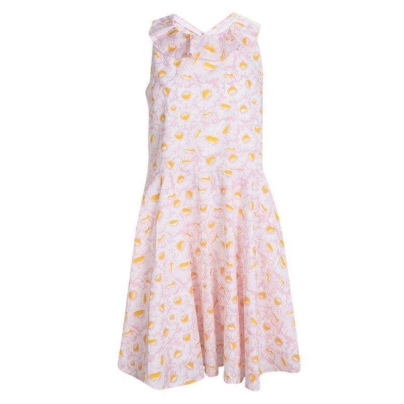 24503c348c61d ... Kenzo Kids Pink Floral Printed Sleeveless Romantic Dress 12 Yrs.  nextprev. prevnext
