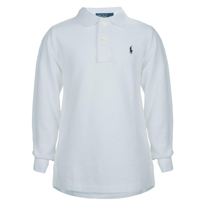 69a48619 ... Ralph Lauren White Long Sleeve Polo T-Shirt 5 Yrs. nextprev. prevnext