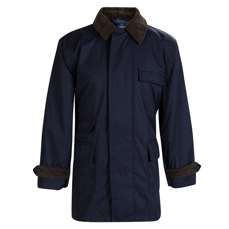 af0311ee0d801d Buy Polo By Ralph Lauren Navy Blue Corduroy Trim Jacket 6 Yrs 87439 ...