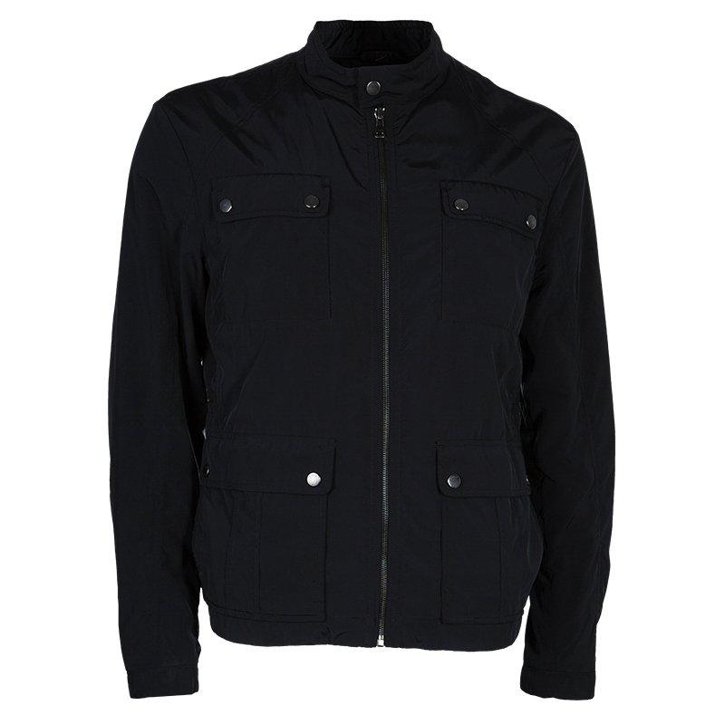 Boss by Hugo Boss Men's Black Nylon Jacket L