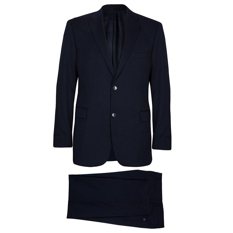 3be23a225 Buy Boss by Hugo Boss Men's Navy Blue Suit L 51606 at best price | TLC