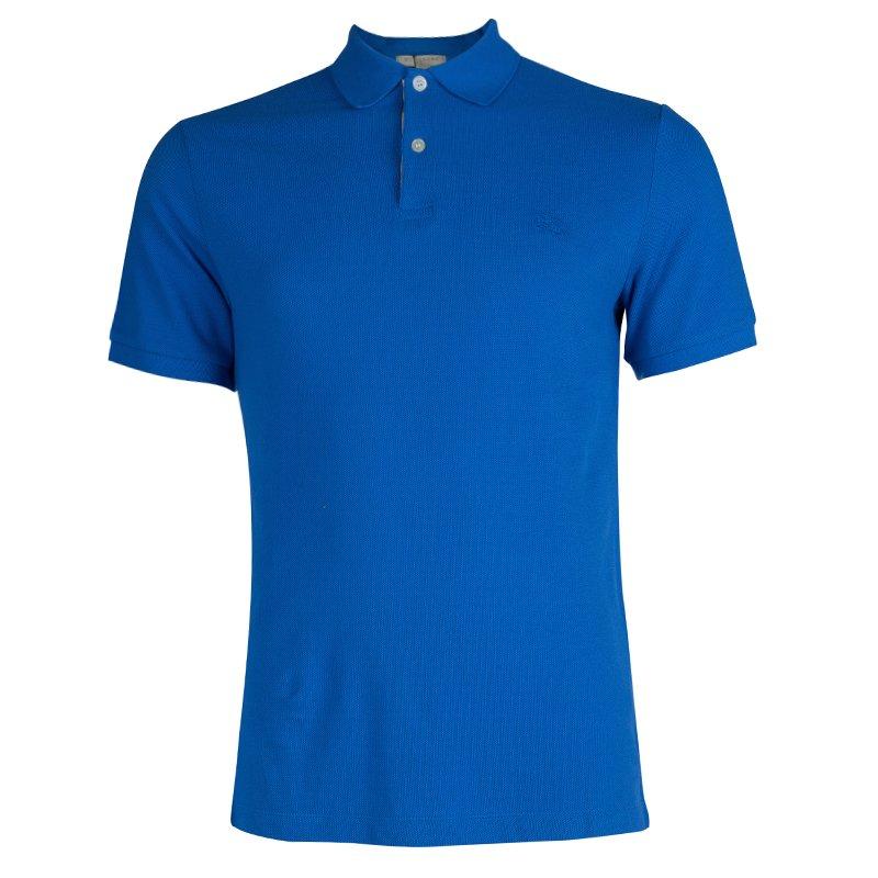 Buy Burberry Brit Blue Classic Polo T-Shirt L 65947 at best price   TLC 5c58c976ce1