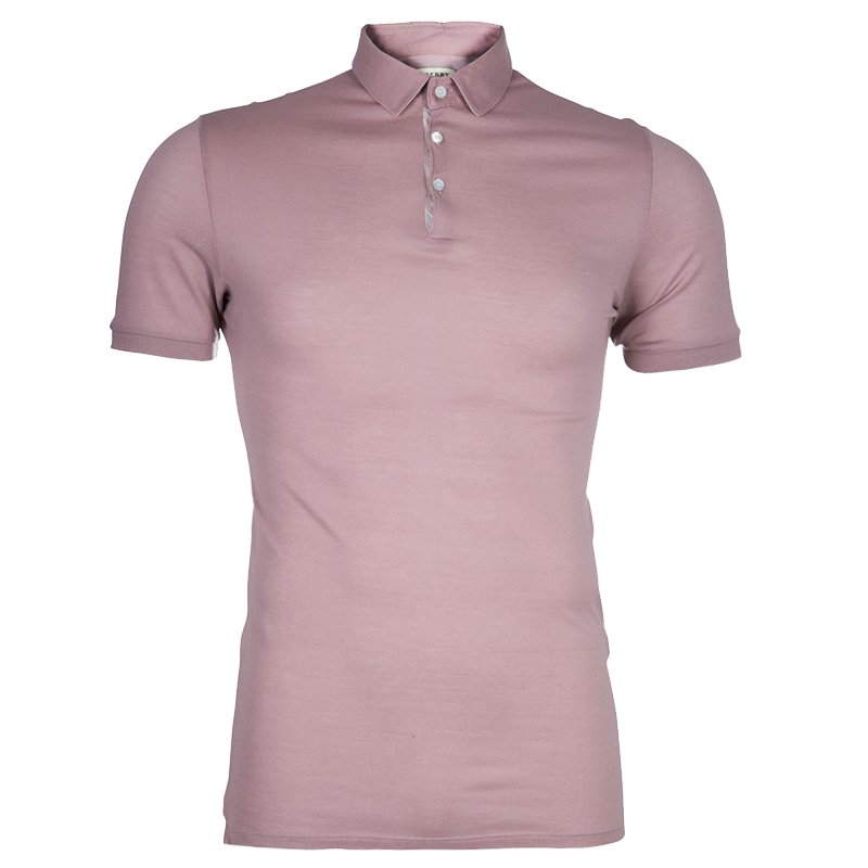 4dc4abe11ff Buy Burberry Men s Mauve Polo Shirt S 47572 at best price