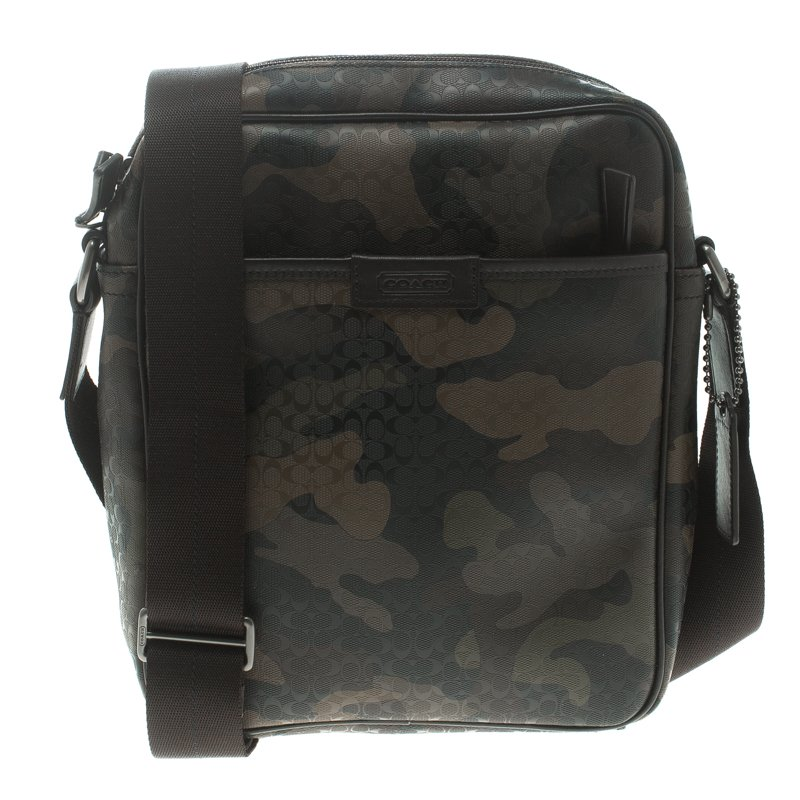 Buy Coach Camouflage PVC Heritage Crossbody Bag 98180 at best price ... c3ffe5076efd7