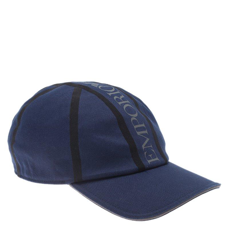 ead93f38c42 ... Emporio Armani Blue Logo Baseball Cap Size L XL. nextprev. prevnext