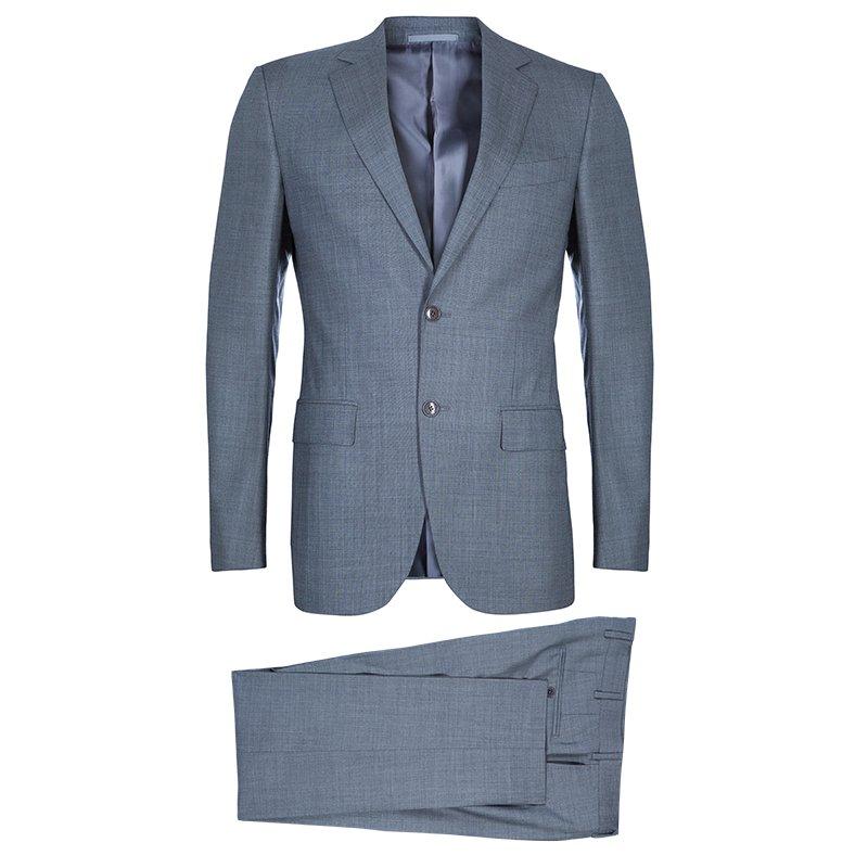 64e6316f63 Ermenegildo Zegna Grey Wool Suit M