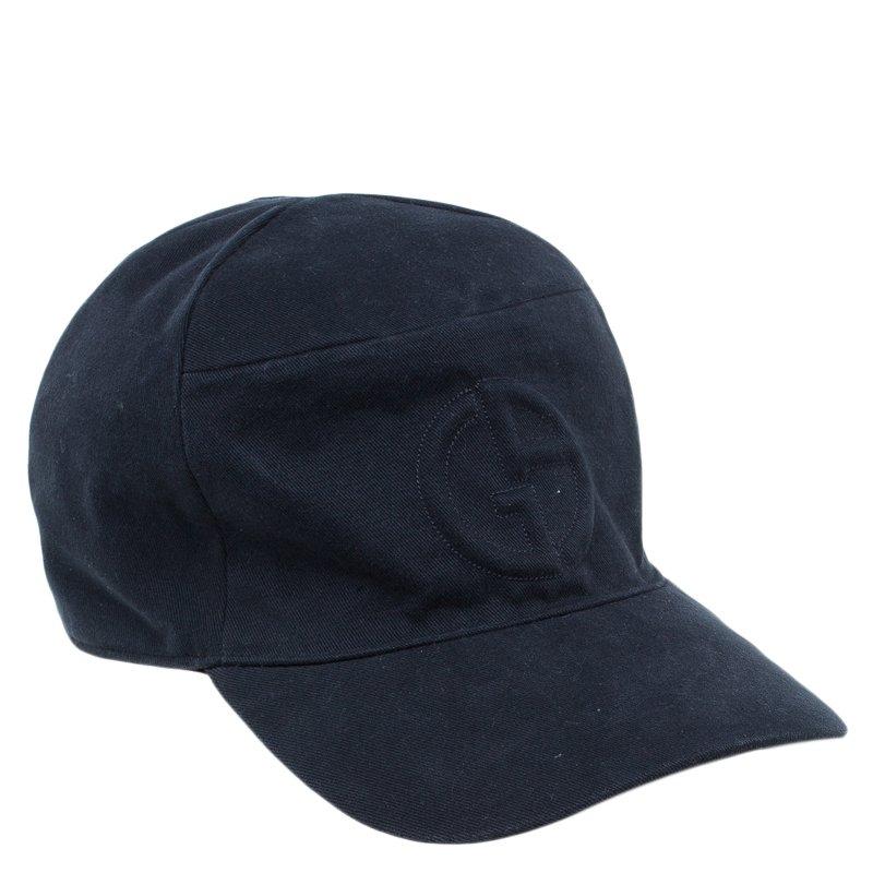 9f4439c9487 ... Giorgio Armani Black Logo Baseball Cap Size 58. nextprev. prevnext