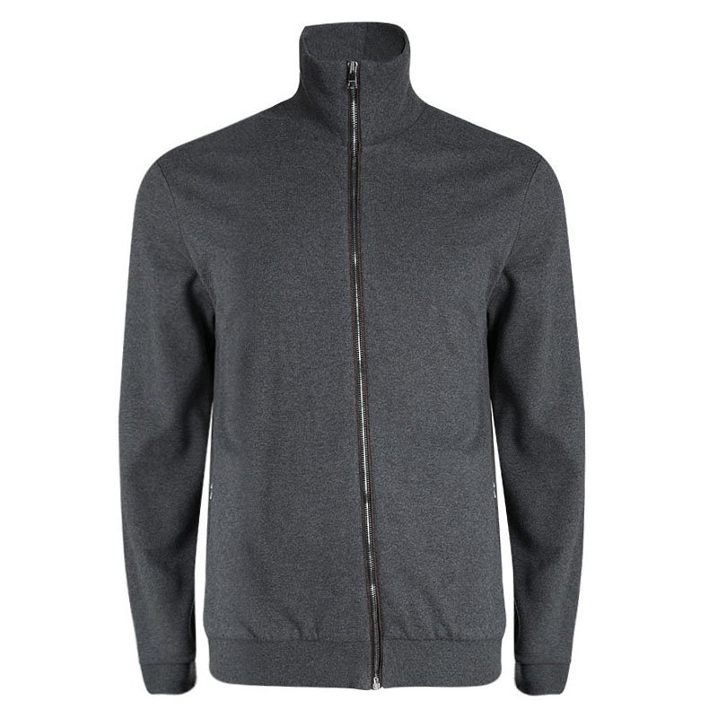 dd7a537eb69 ... Gucci Grey Webstripe Detail Zip Front Sweatshirt XXL. nextprev. prevnext