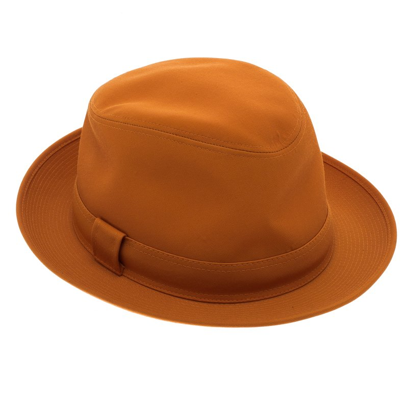 47ac41d1187 Buy Hermes Saffron Funk Fedora Hat ( Size 59 ) 92942 at best price