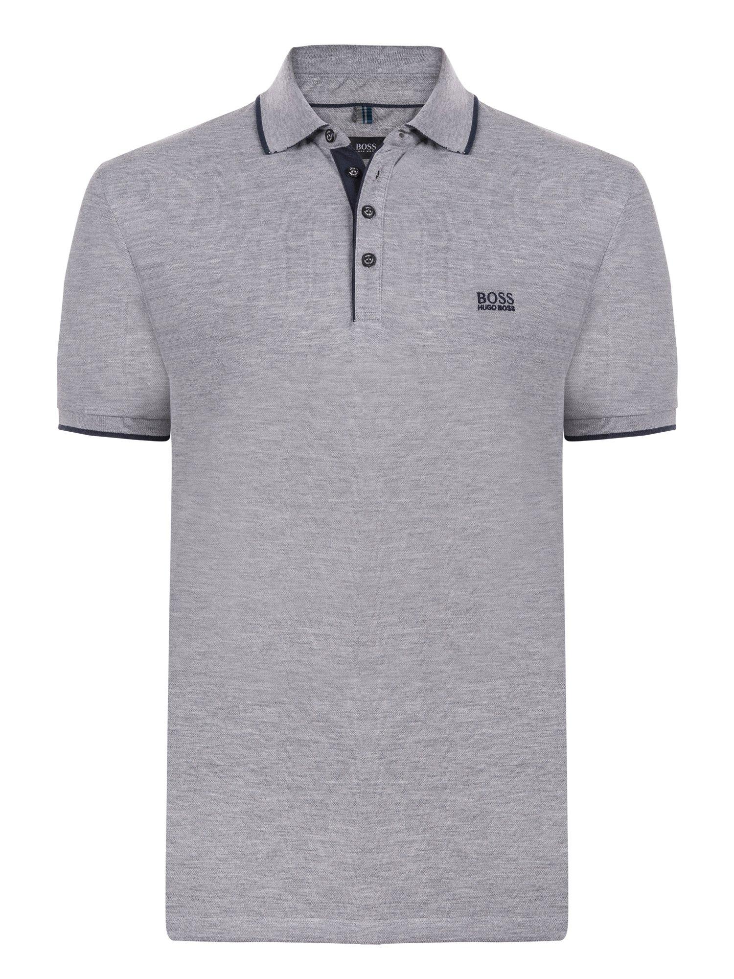 2e5c7a912 ... Hugo Boss Grey Cotton Logo Short Sleeve Polo Shirt XL. nextprev.  prevnext