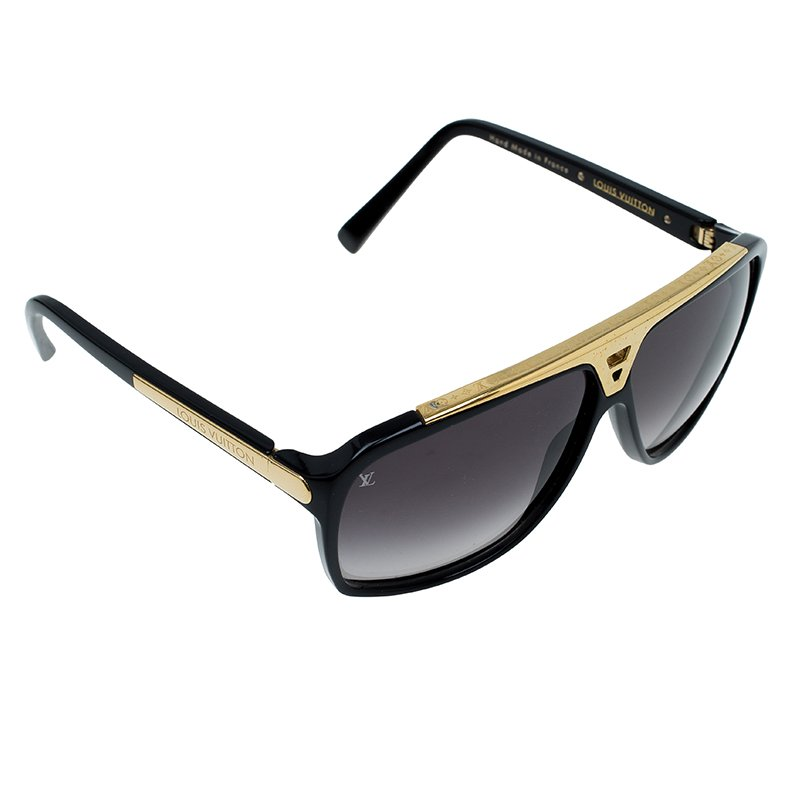 f6f161dd4f23d Buy Louis Vuitton Black Evidence Sunglasses 61753 at best price