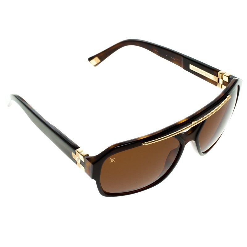 f32533f221 Buy Louis Vuitton Brown Z0272W Damier GM Sunglasses 92525 at best ...