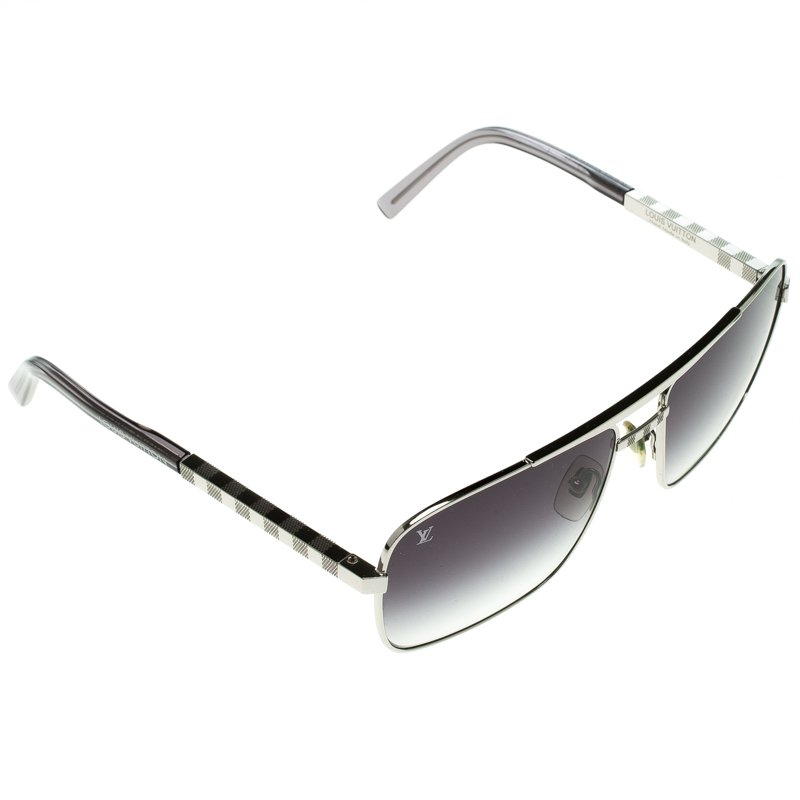 abf1c6535219 Buy Louis Vuitton Black Silver Z0260U Attitude Sunglasses 93199 at ...