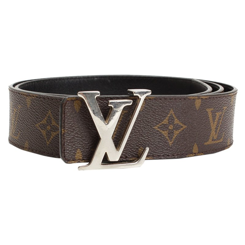 0f282a5d9bef Buy Louis Vuitton Monogram Canvas and Black Leather Initiales ...