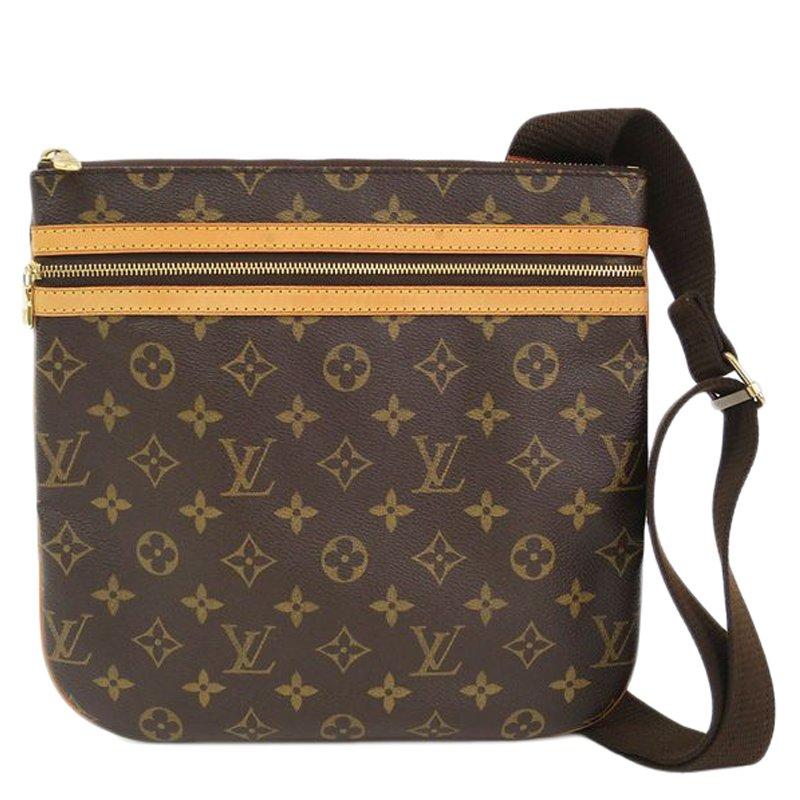 274e159beec Louis Vuitton Monogram Canvas Pochette Bosphore Messenger Bag