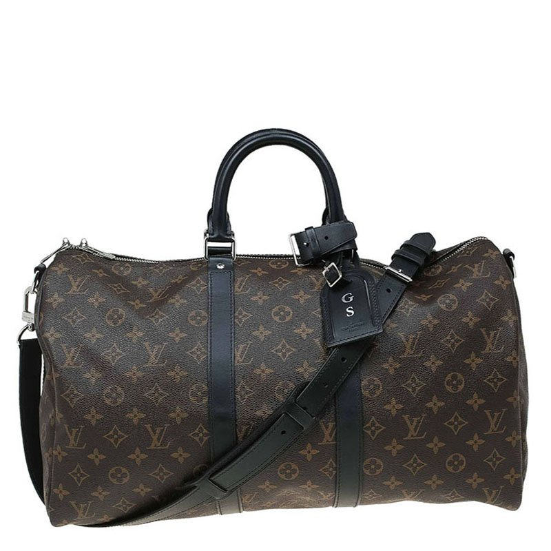 05cd20900f1f5 ... Louis Vuitton Monogram Canvas Macassar Keepall Bandouliere 45.  nextprev. prevnext