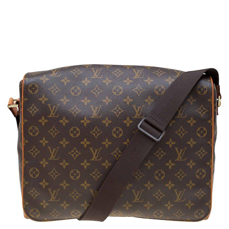 Buy Louis Vuitton Monogram Canvas Abbesses Messenger Bag 77212 at ... 1f44db3e39334