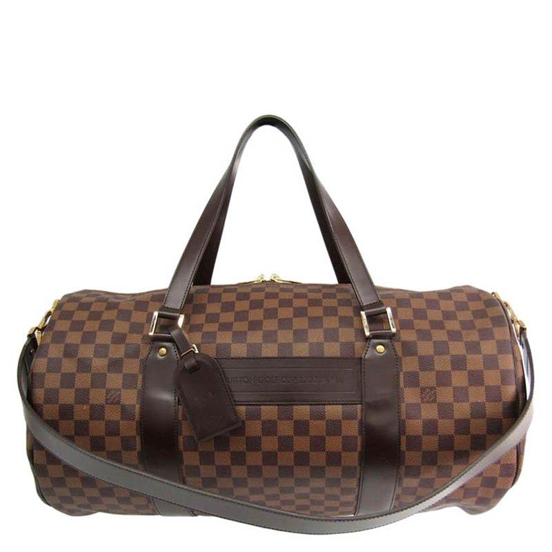 ... Louis Vuitton Damier Ebene Canvas Sac Polochon Duffel Bag. nextprev.  prevnext 79eb913586185