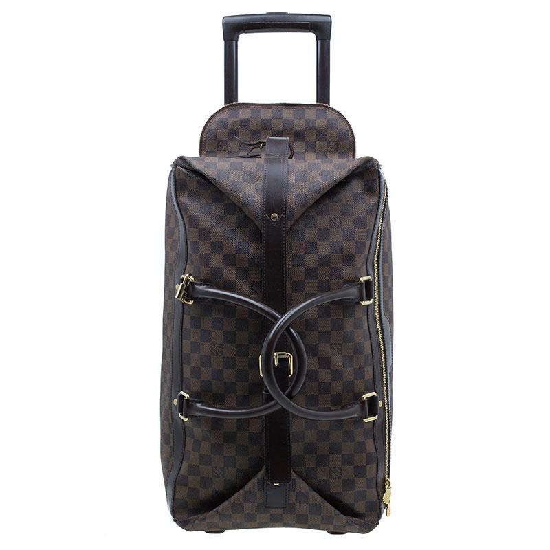 d09a211f3faf ... Louis Vuitton Damier Ebene Coated Canvas Eole Rolling Luggage 50 cm.  nextprev. prevnext