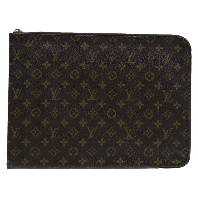 dddd2853823c ... Louis Vuitton Monogram Canvas Poche Documents Holder. nextprev. prevnext