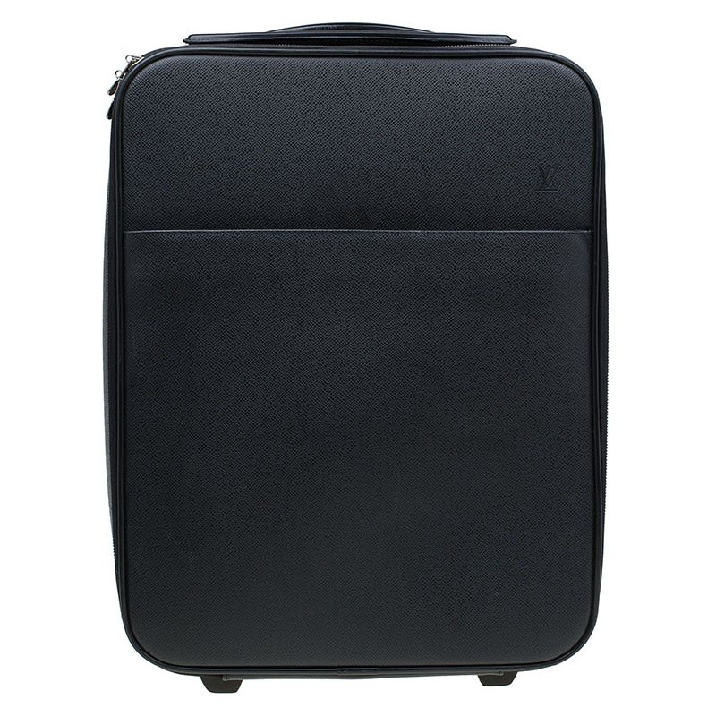 8d8514fa01dd Buy Louis Vuitton Ardoise Taiga Leather Pegase 45 Business Luggage 81962 at  best price