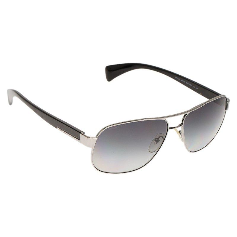 900c094555 ... Prada SPR 52P Silver Tone Polarized Sunglasses. nextprev. prevnext