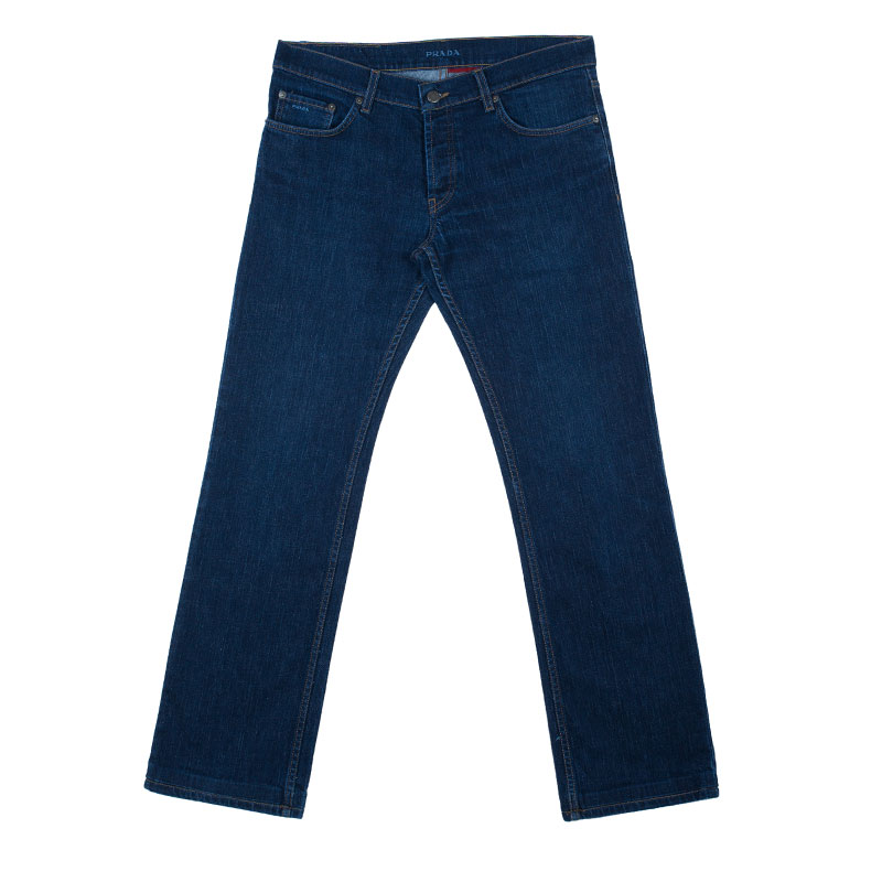 56fd18307e Prada Men's Dark Blue Denim Jeans M