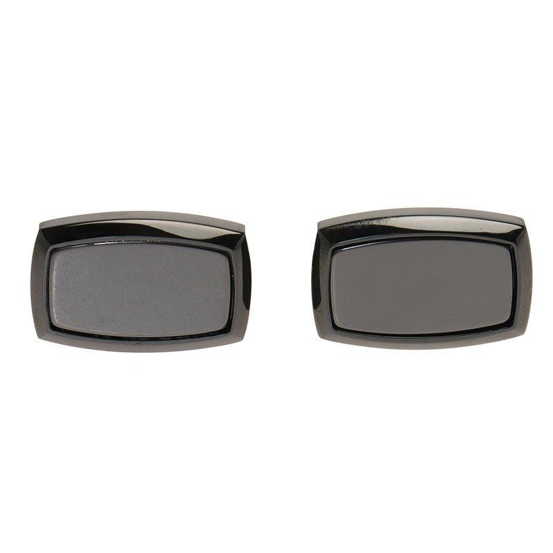 S.T. Dupont Black Ceramic Classic Men's Cufflinks