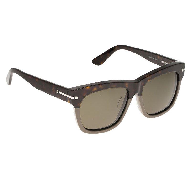 Valentino Brown and Grey V703SA Wayfarers