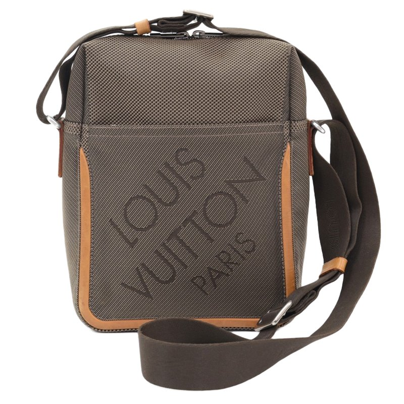 df0436ddc429 ... Louis Vuitton Terre Damier Geant Citadin Messenger Bag. nextprev.  prevnext