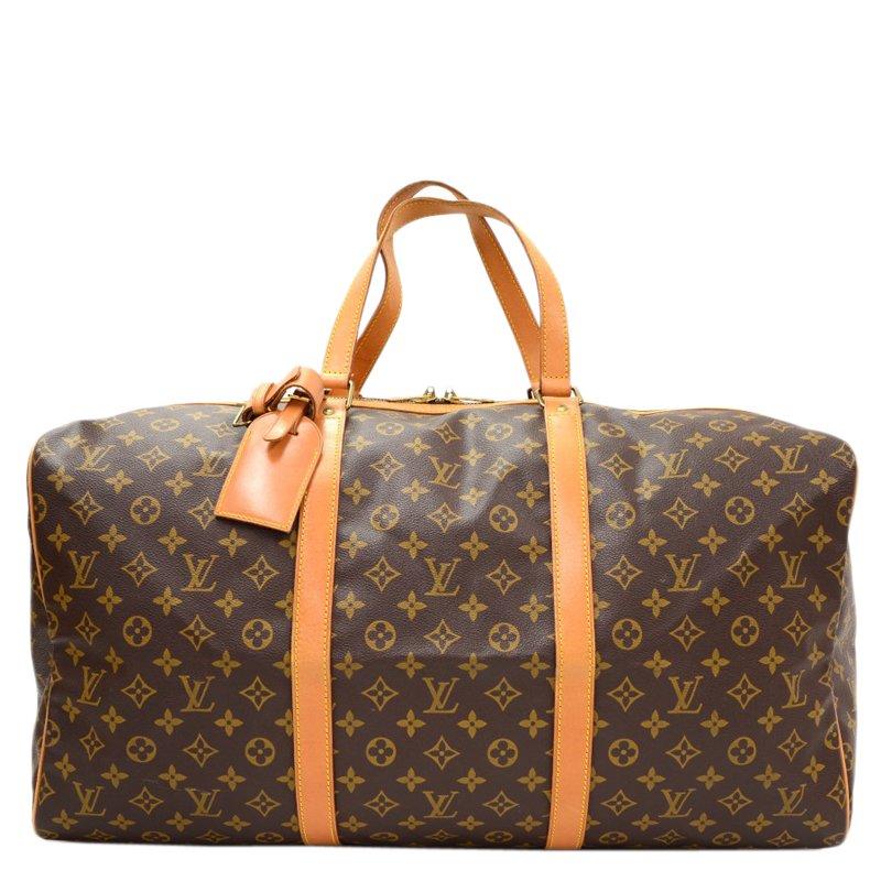 ... Louis Vuitton Monogram Canvas Sac Souple 55 Travel Bag. nextprev.  prevnext 3f9a7ffae52e7