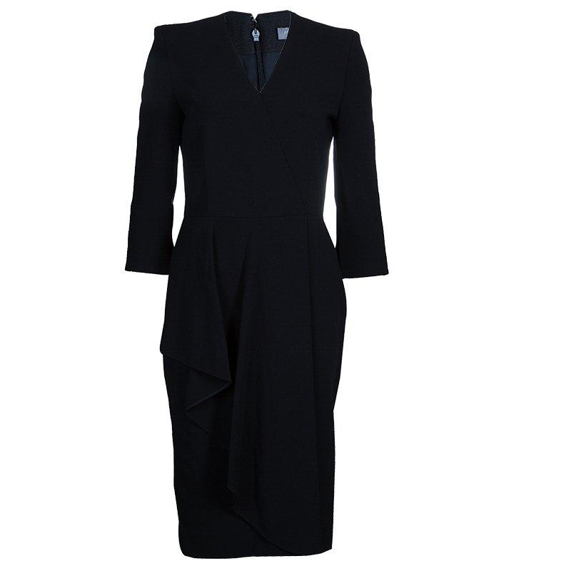 Alexander McQueen Wool Crepe Dress S