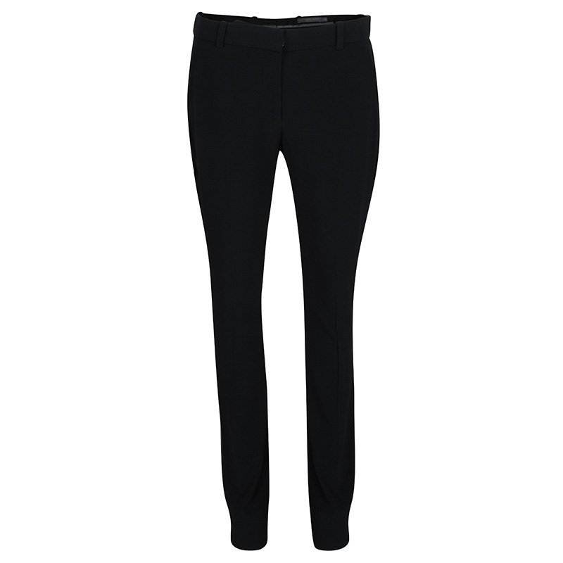 Alexander McQueen Black Tailored Trousers S
