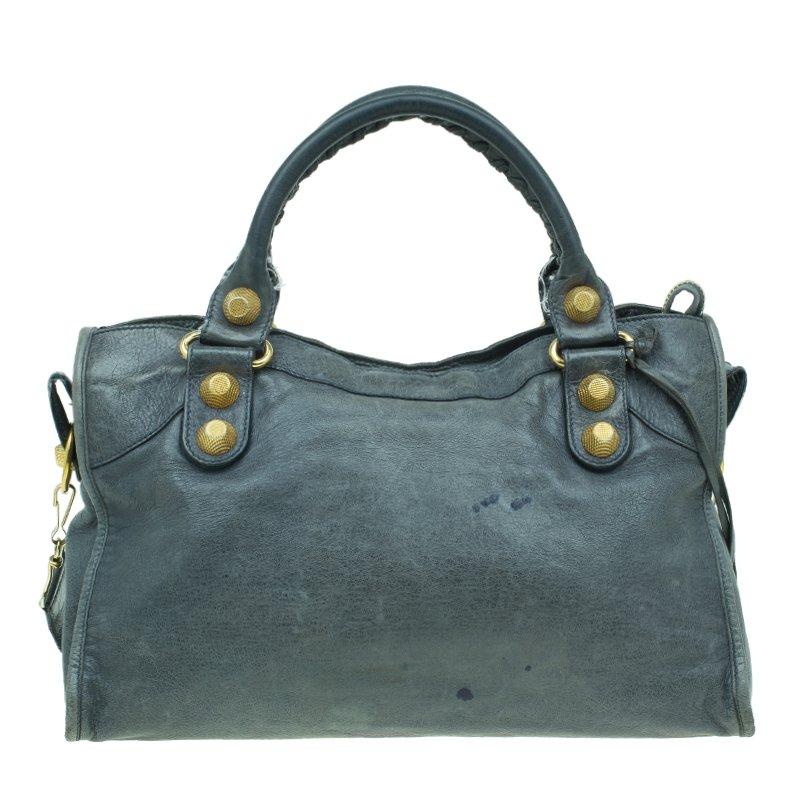casual shoes promo code high fashion Balenciaga Mystery Green Lambskin Leather Classic City Tote GH Bag
