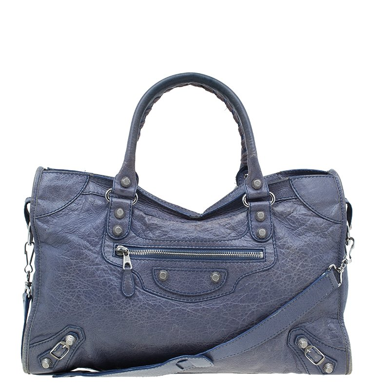 a5b904d048c ... Balenciaga Lilac Lambskin Leather Giant 12 City Silver Shoulder Bag.  nextprev. prevnext