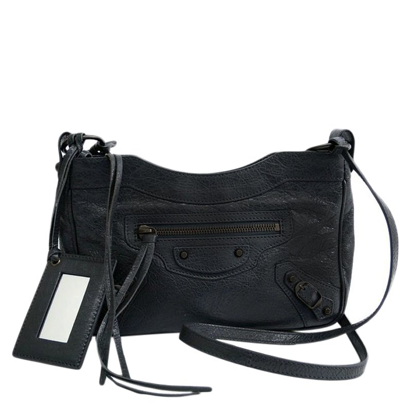 707b8c0a2ada ... Balenciaga Gris Fossile Lambskin Leather Hip Shoulder Bag. nextprev.  prevnext