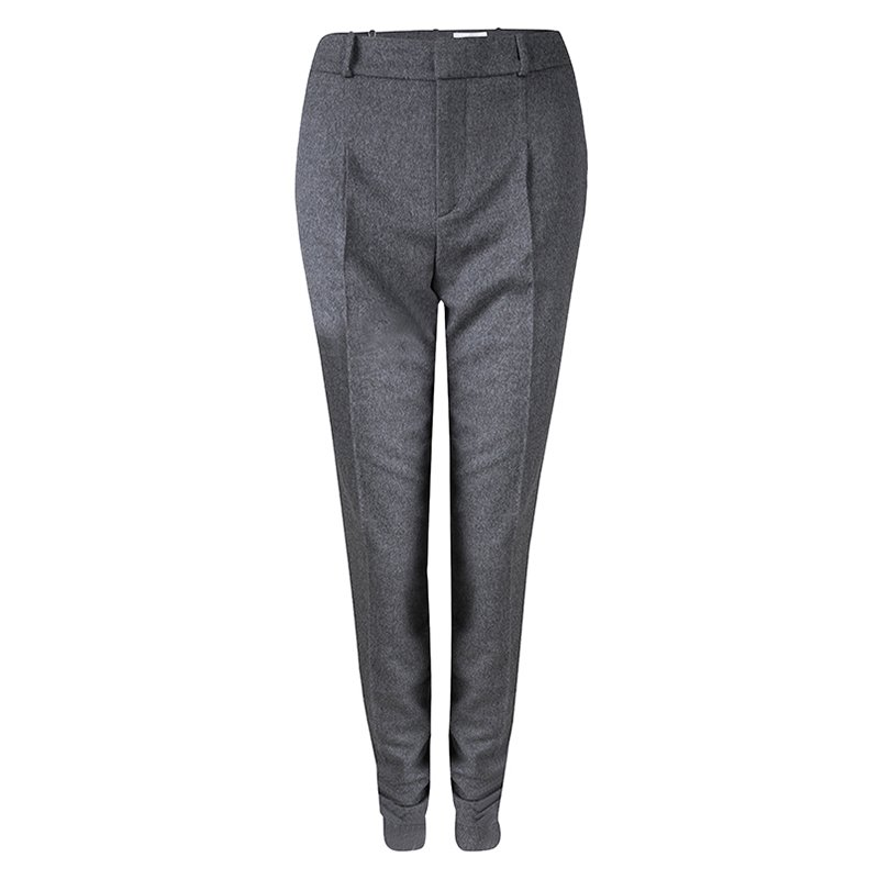 Boss By Hugo Boss Runway Edition Grey Wool Tumena Trousers S
