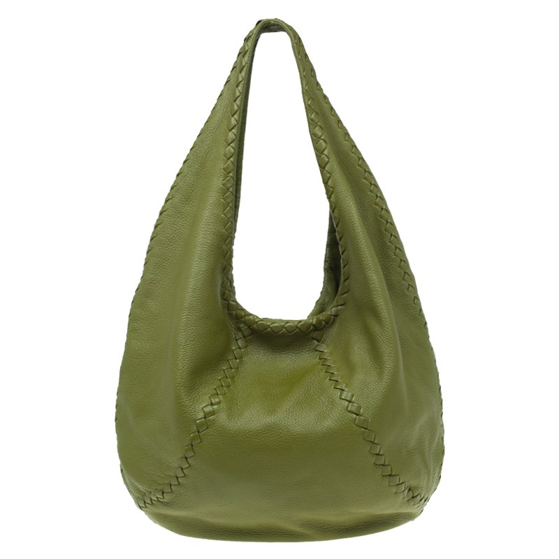 ... Bottega Veneta Olive Green Leather Large Cervo Hobo. nextprev. prevnext 2c8b28854d7bc