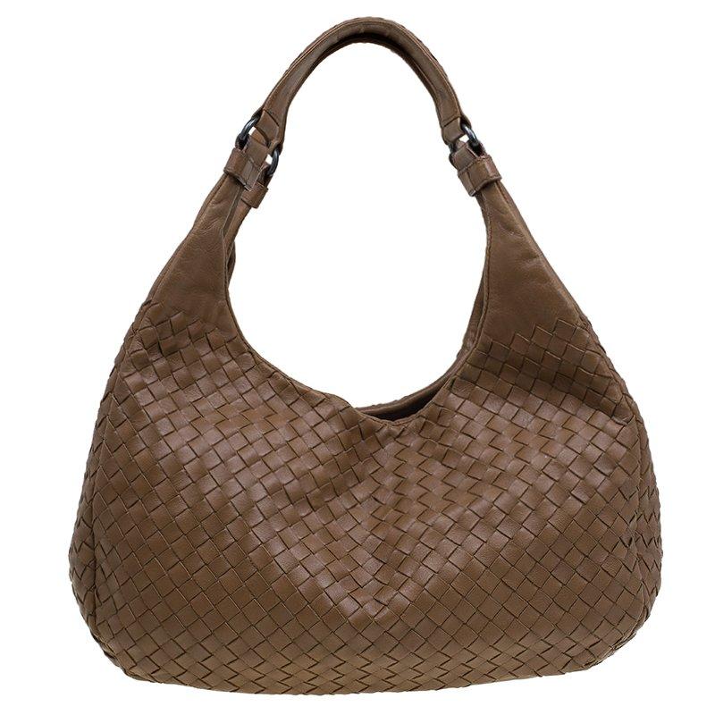 b54dba9dc33c ... Bottega Veneta Brown Intrecciato Leather Medium Ball Hobo. nextprev.  prevnext