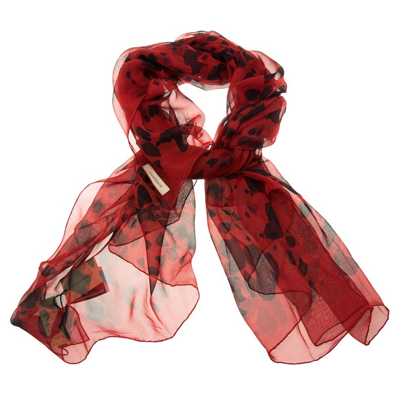 e6126c2563151 ... Burberry Military Red Animal Print Silk Scarf. nextprev. prevnext