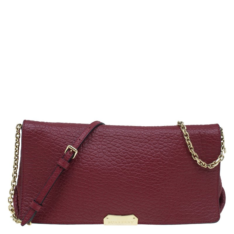 21abeabd2444 ... Burberry Burgundy Grain Leather Madison Shoulder Bag. nextprev. prevnext