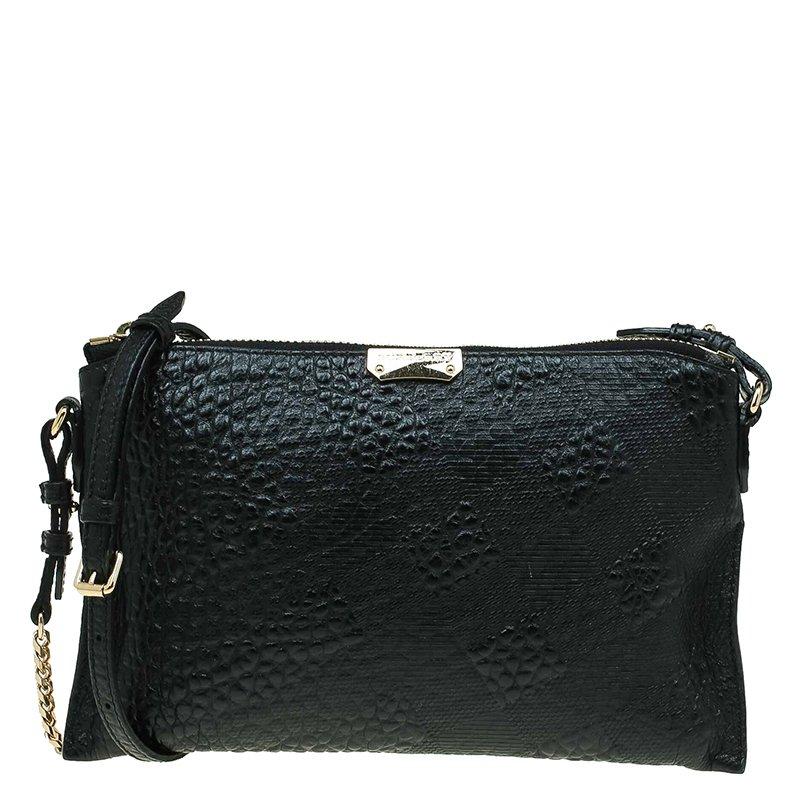 1d0924ccb6c ... Burberry Black Leather Small Heritage Chichester Clutch Bag. nextprev.  prevnext