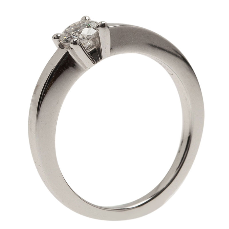 8c960592e9e4 Buy Cartier Declaration Solitaire 0.23 ct E VVS1 Diamond Platinum ...