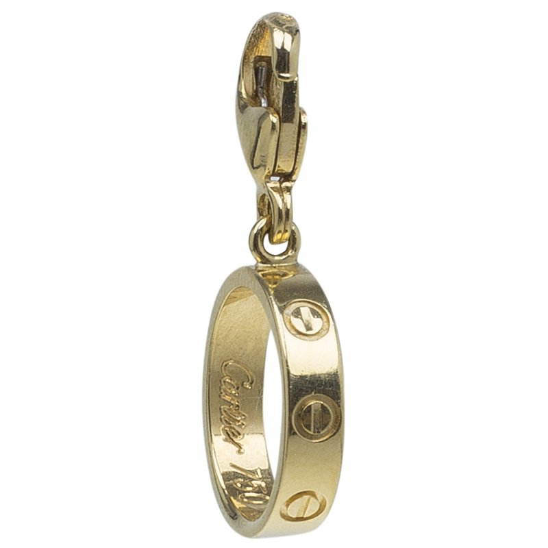 Cartier Love Yellow Gold Charm