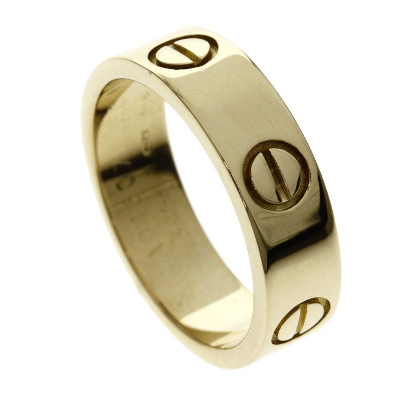 Buy Cartier Love Yellow Gold Ring Size 52 98650 At Best Price Tlc
