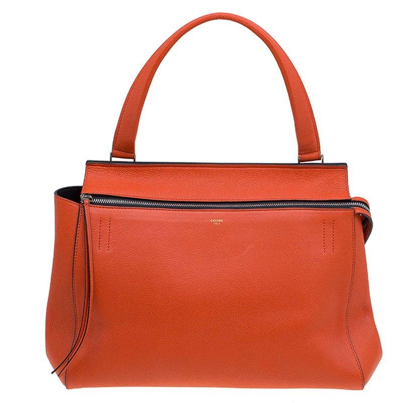 f933630416 ... Céline Poppy Red Coquelicot Leather Medium Edge Bag. nextprev. prevnext