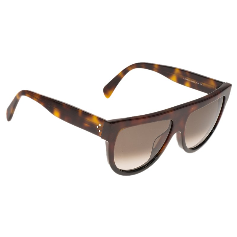 75cc5018d2dc5 Buy Celine Tortoise Frame Shadow Sunglasses 80488 at best price