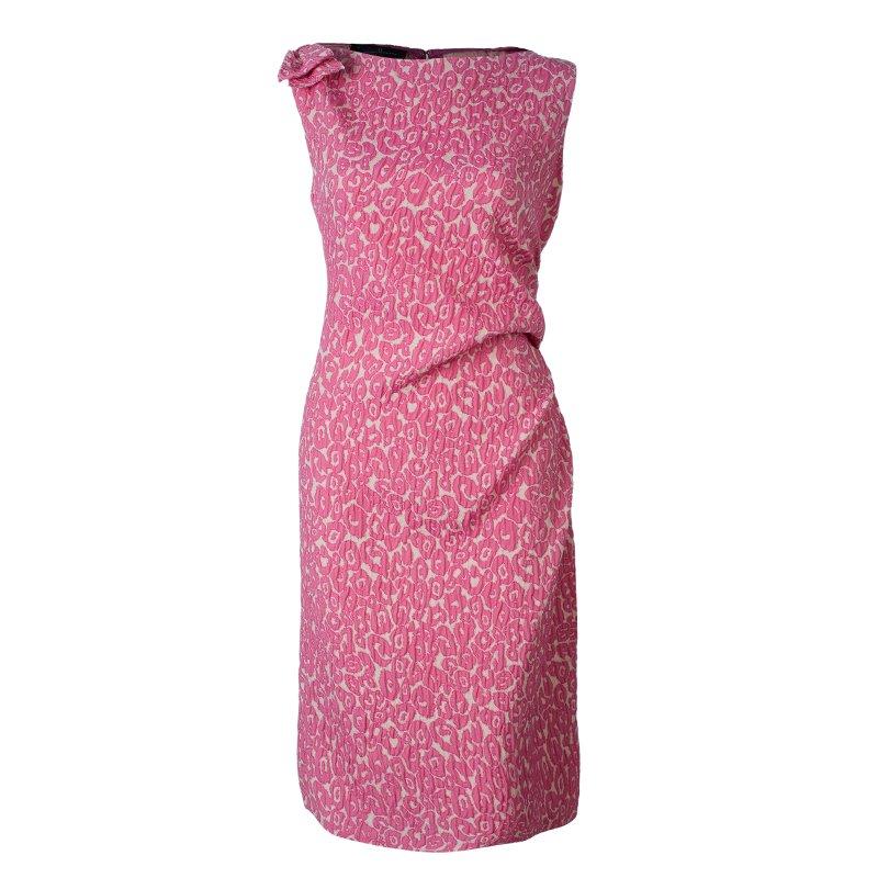 875d824a35 ... CH Carolina Herrera Pink Leopard Print Sleeveless Dress L. nextprev.  prevnext