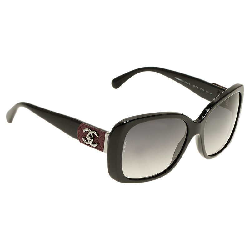 b49a75ab9fcc0 ... Chanel Black CC Logo 5234-Q Square Sunglasses. nextprev. prevnext